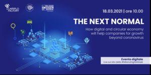 "The Next Normal"" - Milano Digital Week 18 marzo 2021"