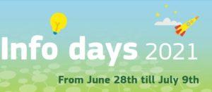 Horizon Europe info-days: 28 giugno – 9 luglio 2021